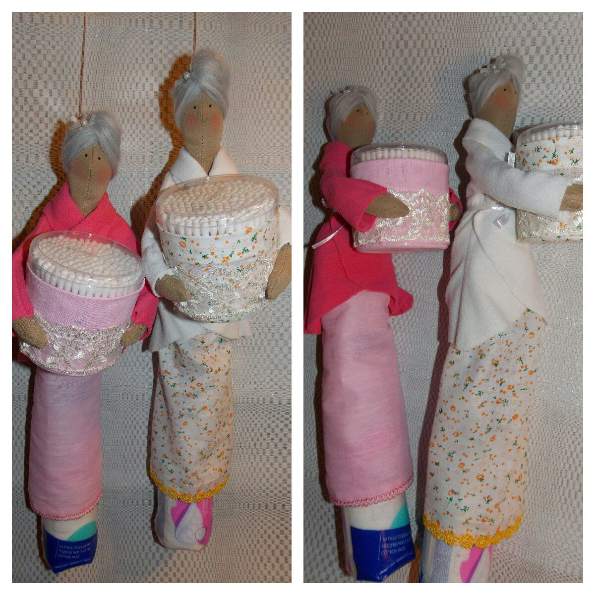 fairy gift present handmade cottonpads cottonbuds