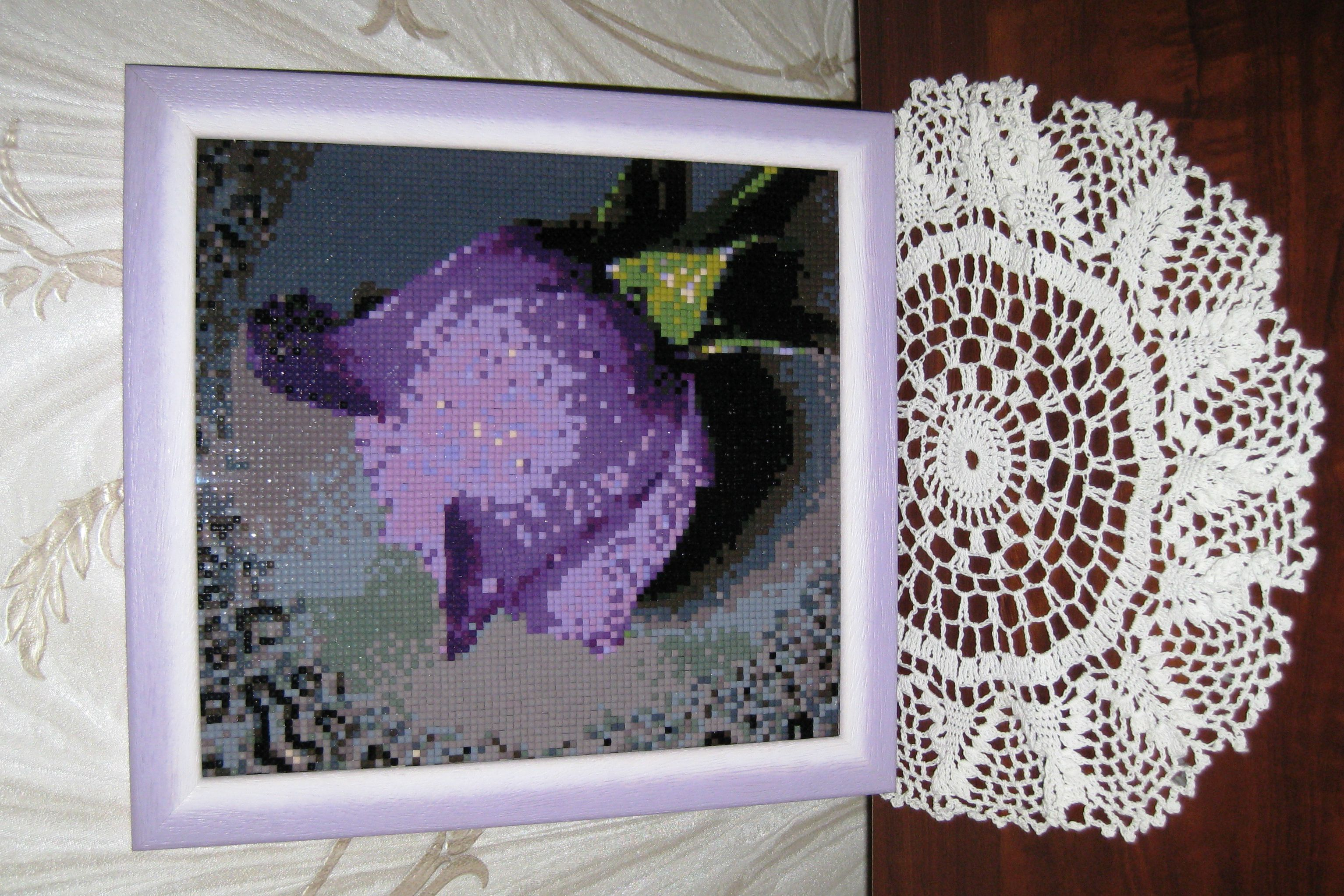 handmade gift painting creativity embroidery originalgift rhinestones mosaicembroidery acrylicrhinestones