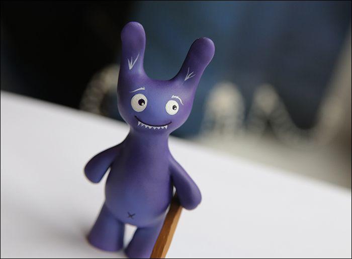 bunny violet interior axe clay
