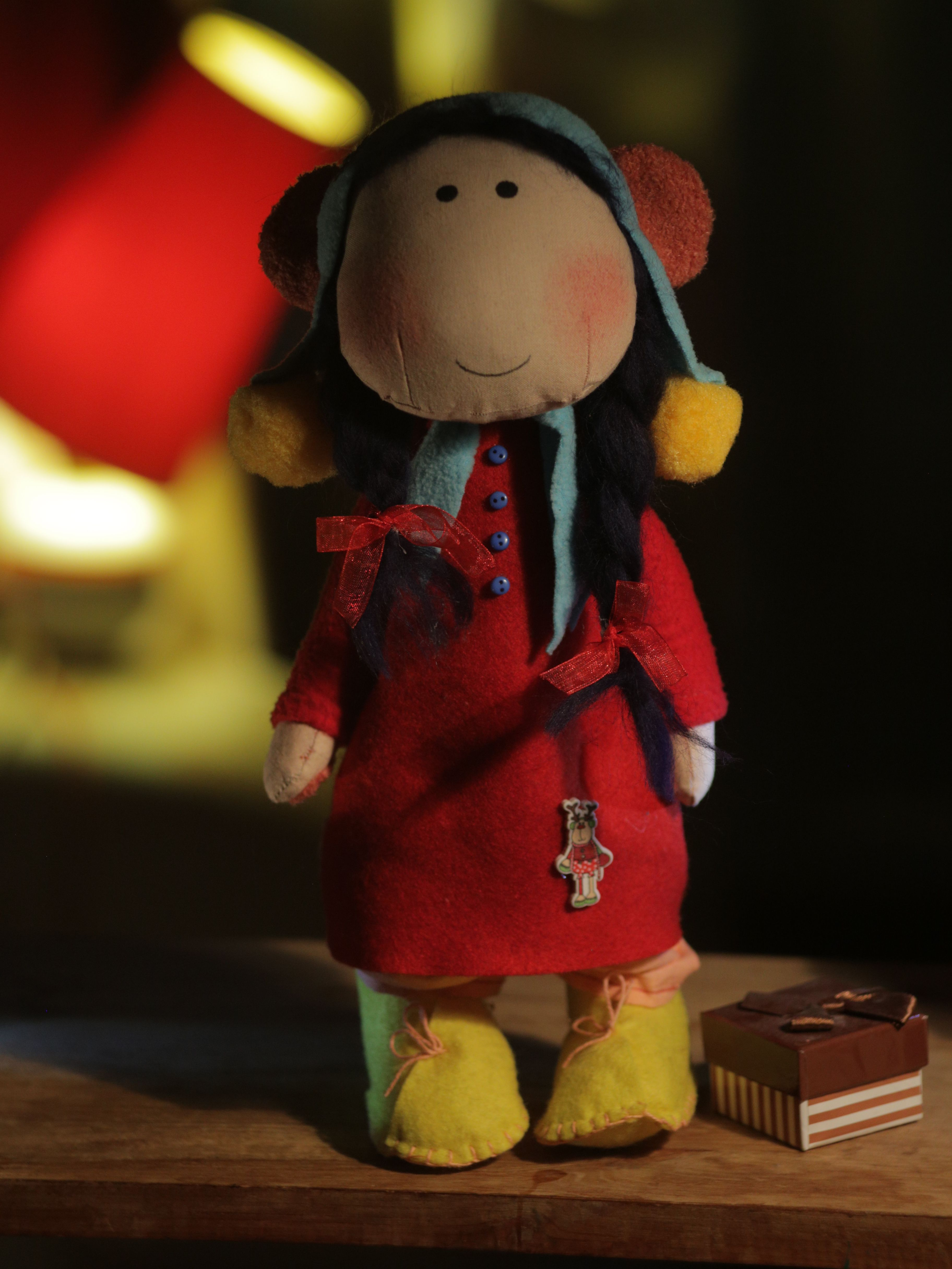 toy doll monkey cotton