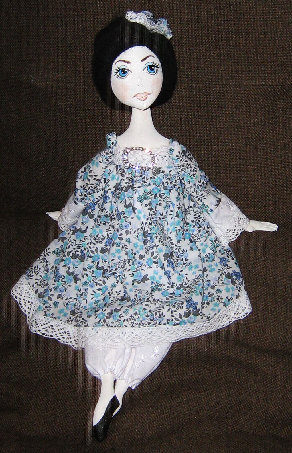 doll interior vintage textile handmade