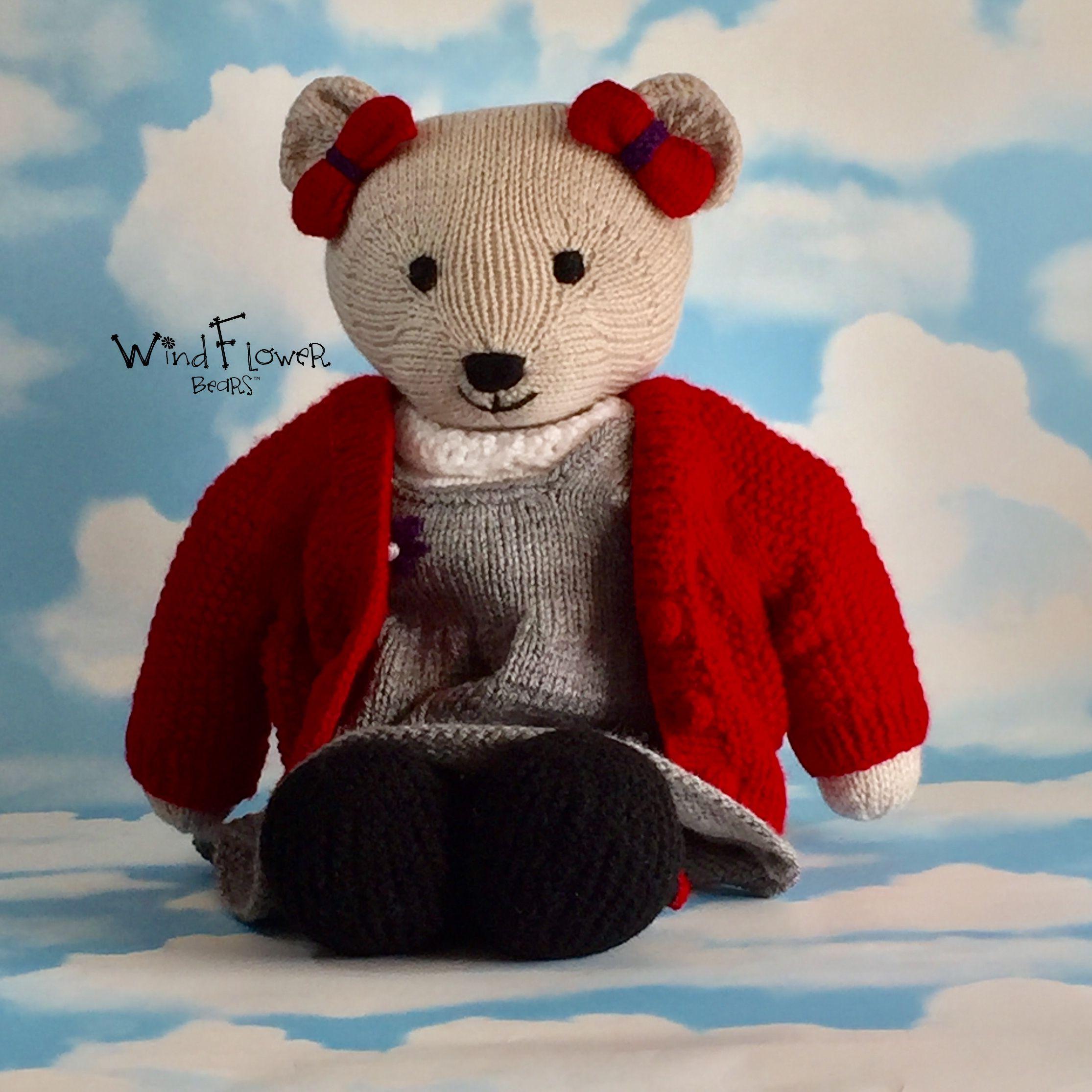 gift bear handmade school