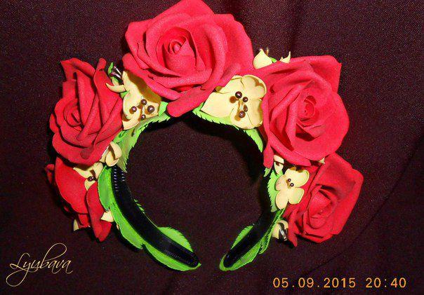 flowers bands chaplets bandelets