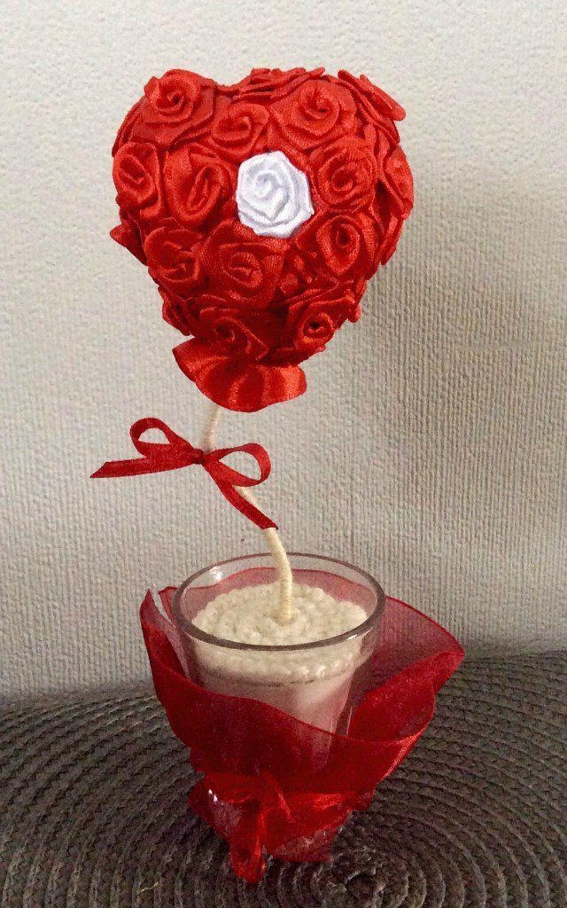 handmade love magic topiary