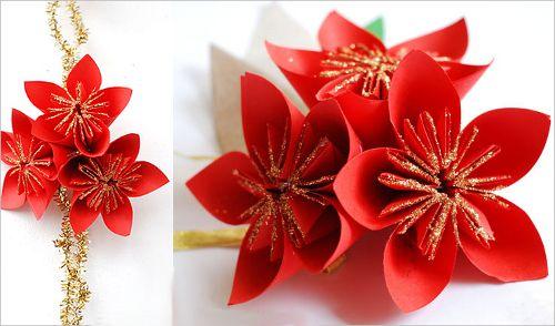 crafts scheme origami paper flower