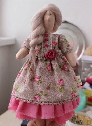 doll soft toy model make