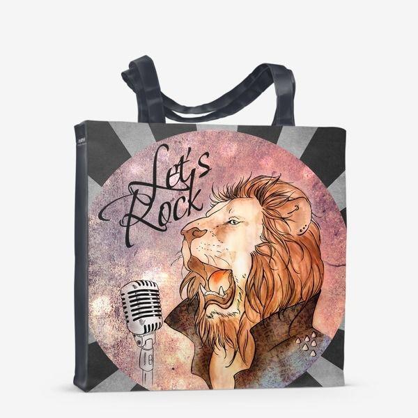 bag lion rocknroll shopping