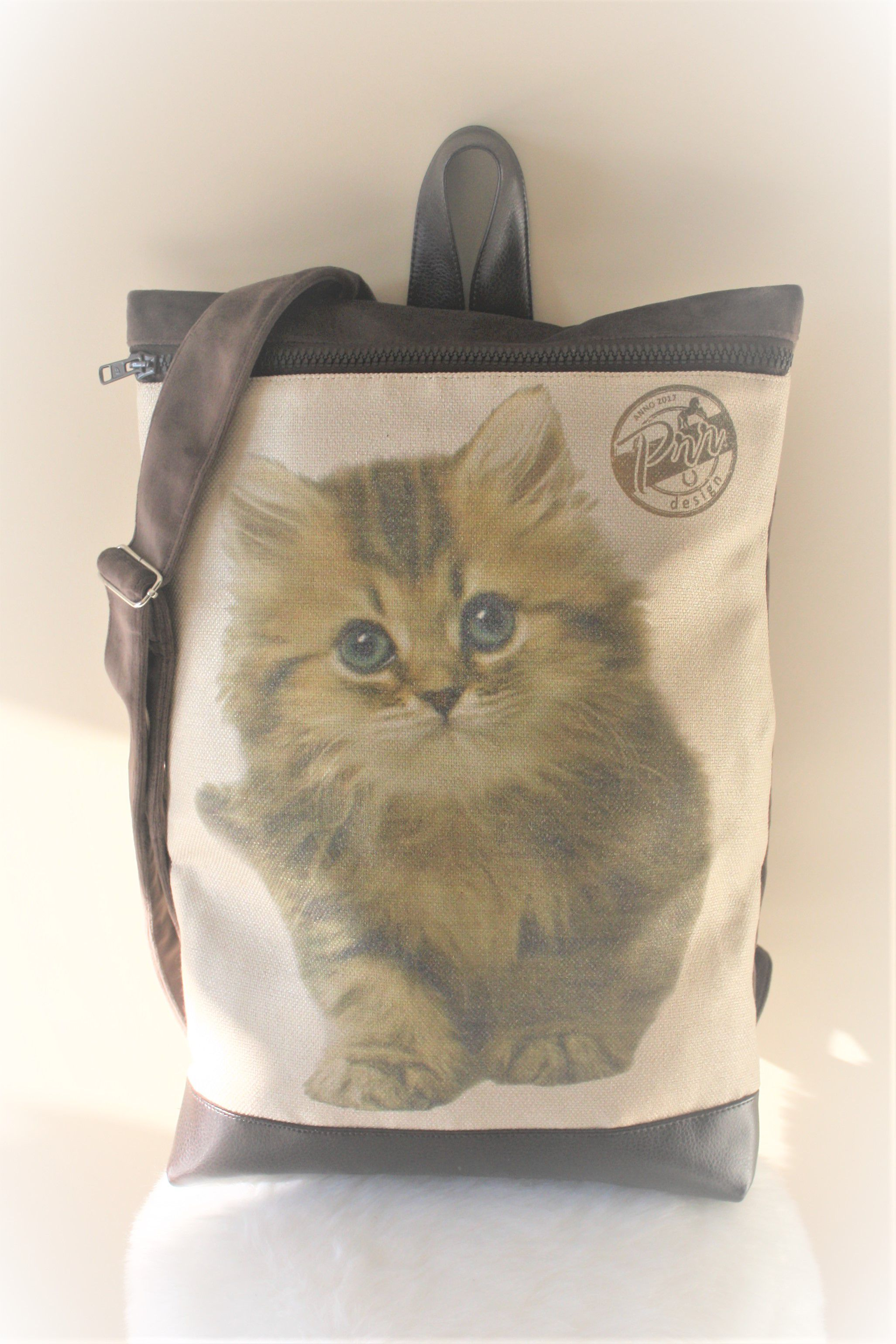 best pack friend cat vegan gift lovers cute rucksack city backpack cutest perfect