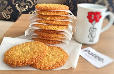 tasty tea idea sesamecookies delocious quickrecipe fortea guests handmade home family kitchen cookies