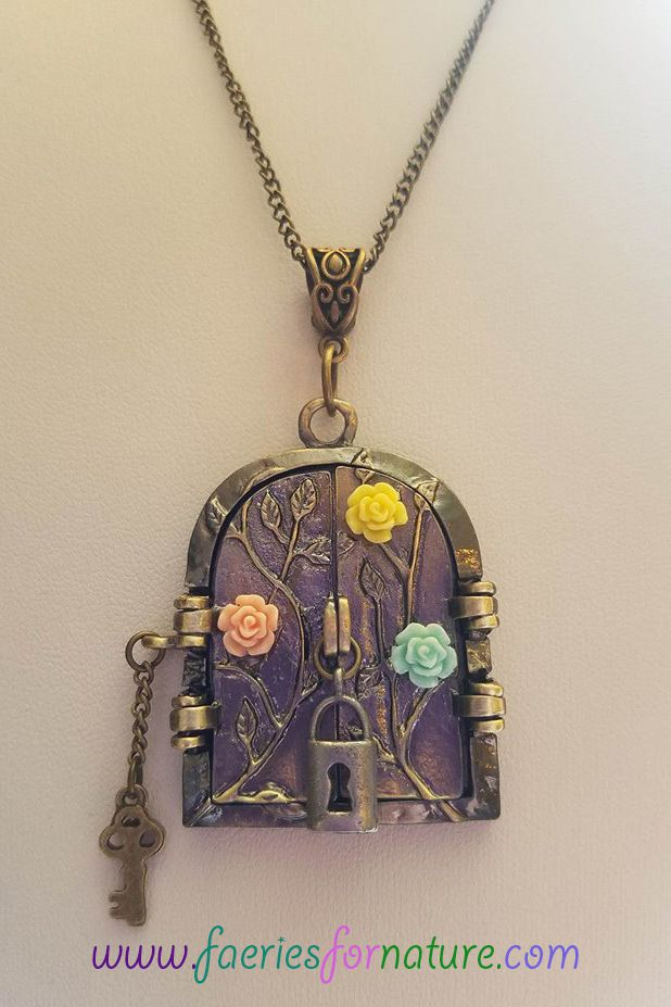 whimsical fantasy lockets faerie fairy charm pendant locket necklaces jewelry necklace pixie renaissance