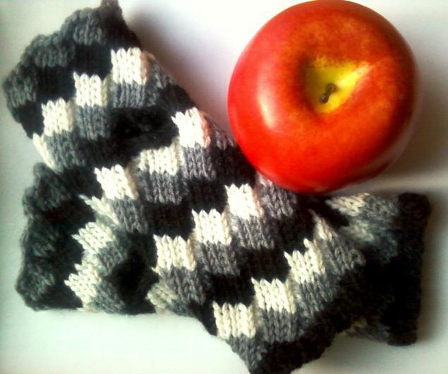 spiral estonian knitting