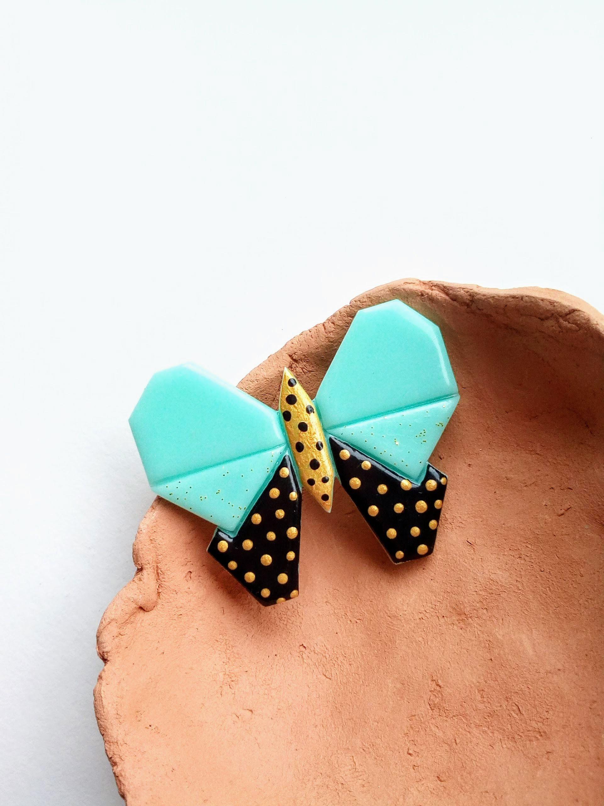 greenmint mintbrooch butterfly mintbutterfly