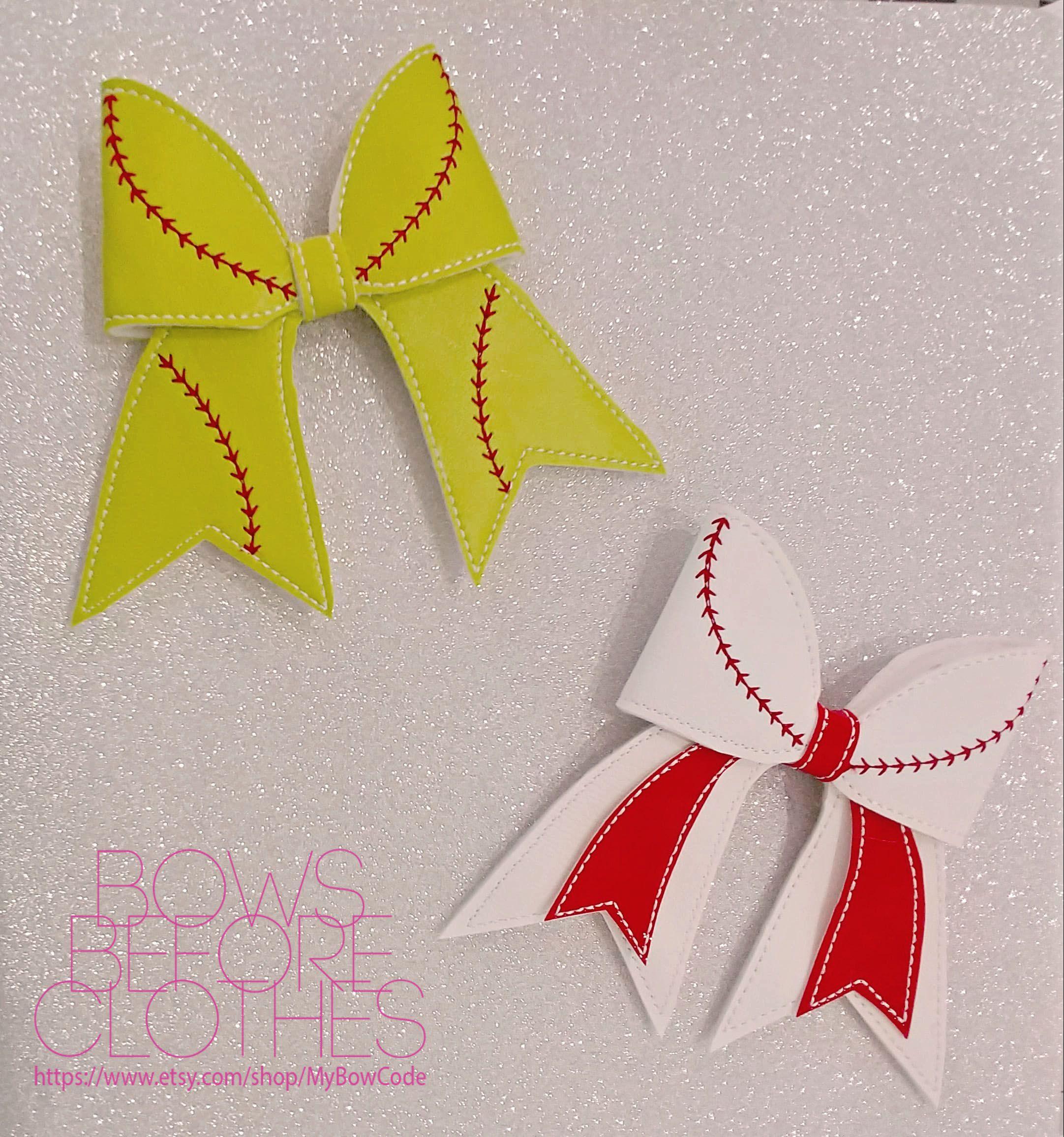 bows baseball softball