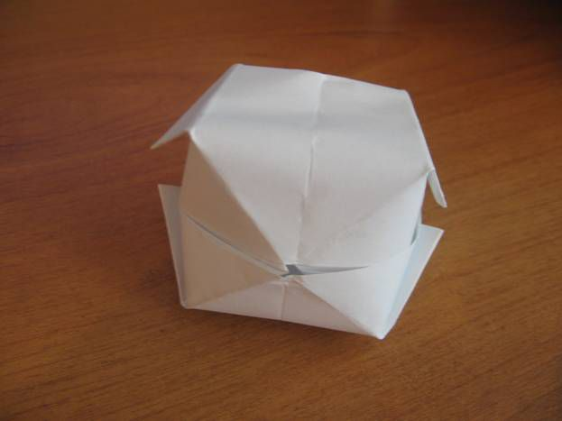 make origami paper bomb crafts water
