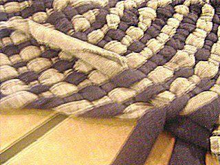 scheme rug tshirt make braided