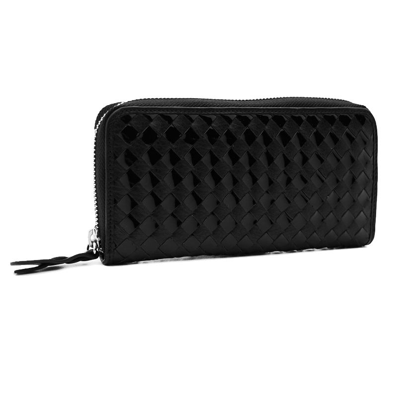 accessories leather black handmade wallet