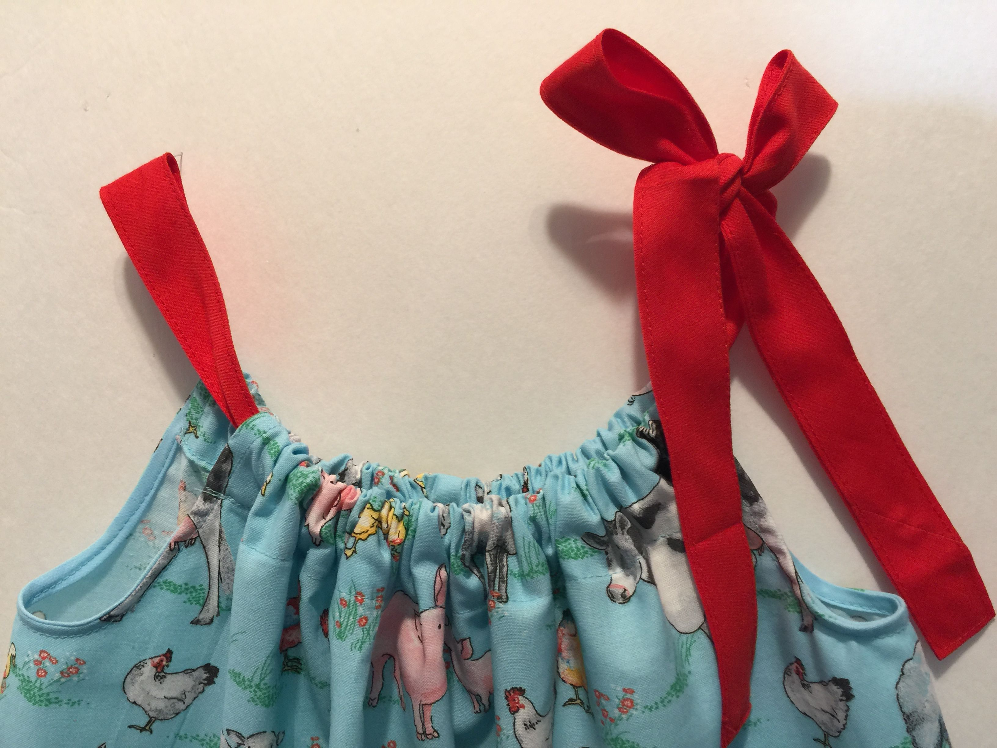 toddler girl sundress pillowcase baby cow clothes farm girls spring dress dresses summer clothing for jumper