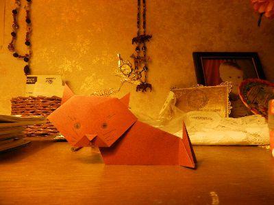 crafts cat origami paper make