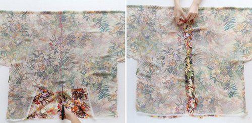tailoring kimono bathrobe make clothing