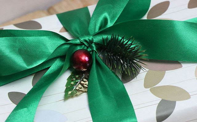 decorative christmas make bows holidays