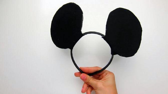 minnie ears mouse headband make