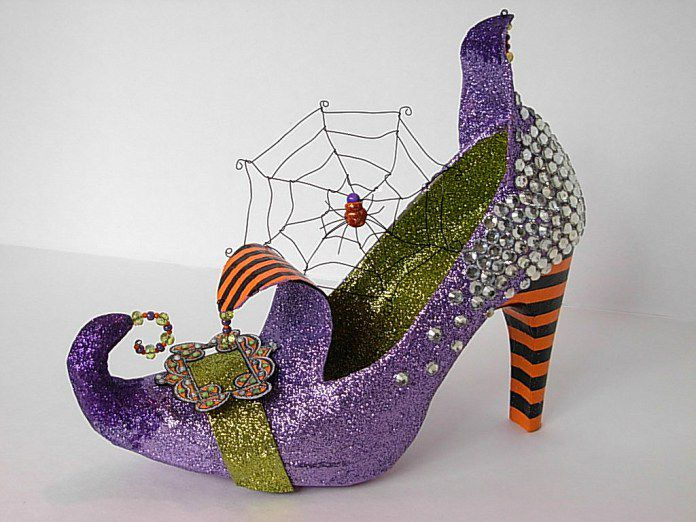 halloween shoes sweets candy witch trickortreat