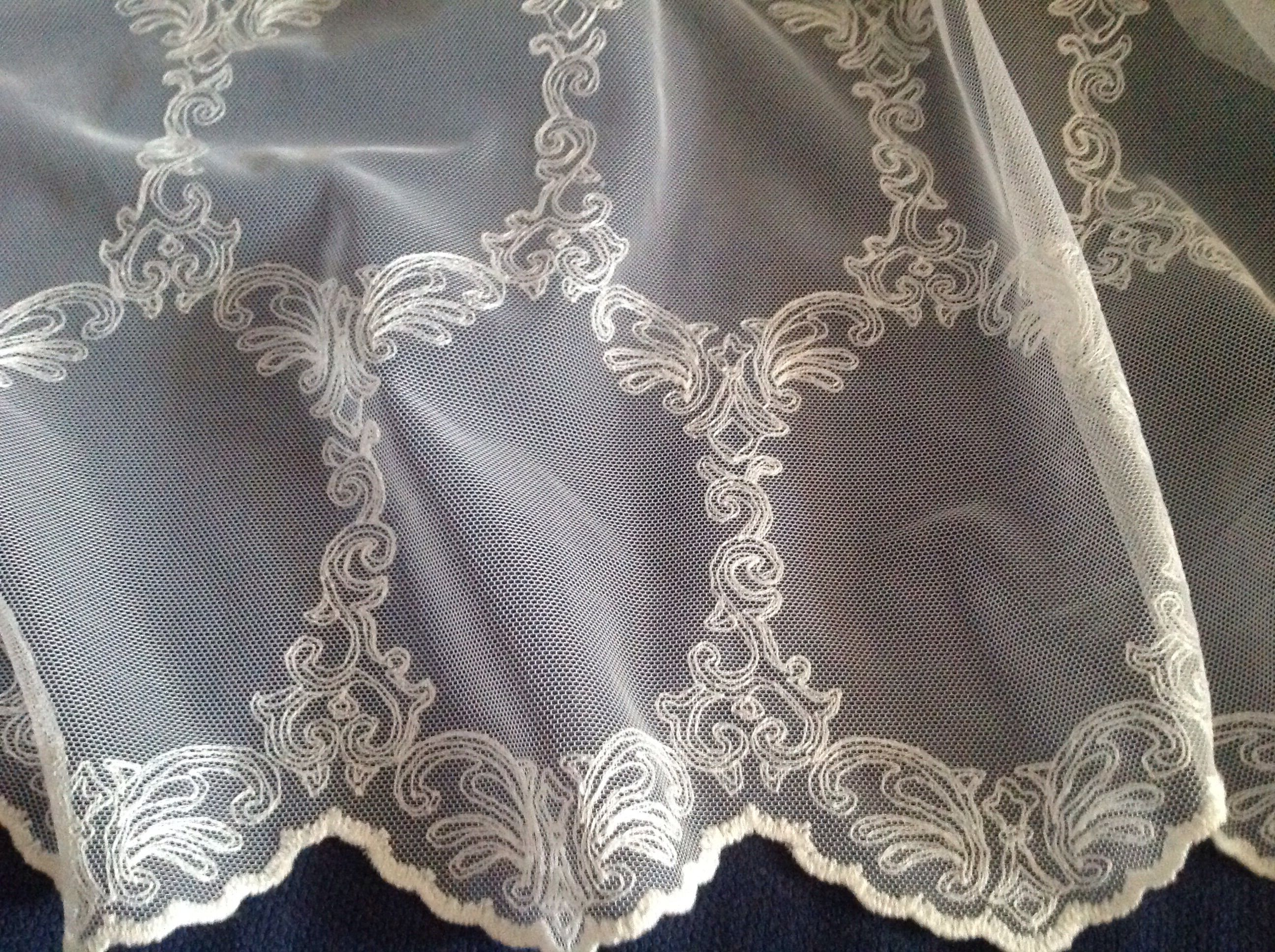 vintage home tulle curtain