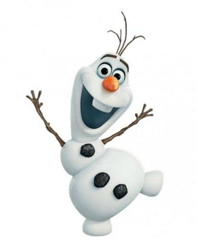 olaf from frozen art draw