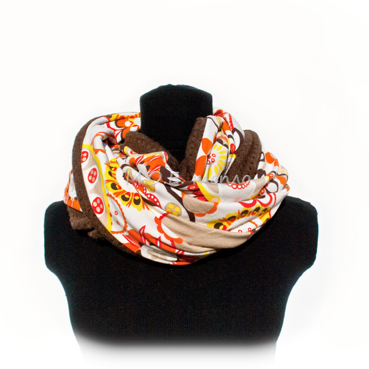 accessories clothes orange scarf neckwarmer
