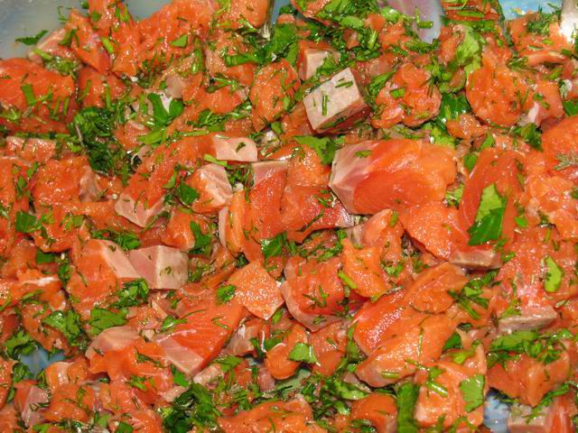 cookery patties salmon cook ingredients recipe