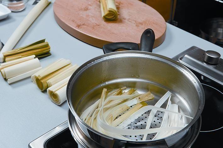 cookery leeks cook ingredients recipe