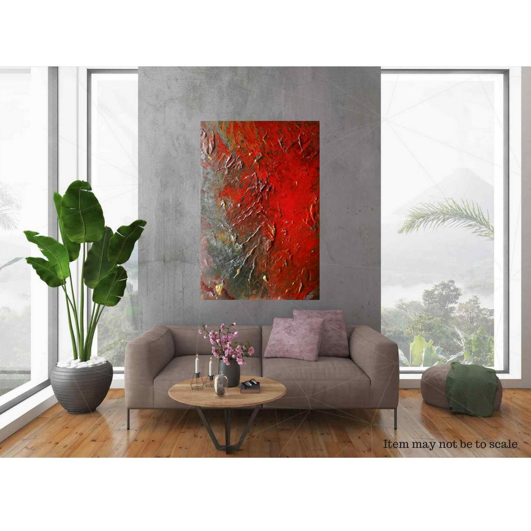 wallart abstractart gennhaio homedecor acrylicpour