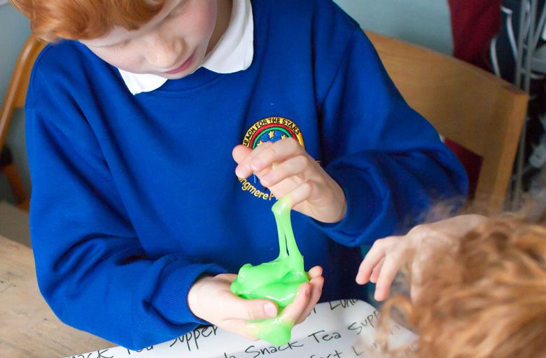 children home slime make for