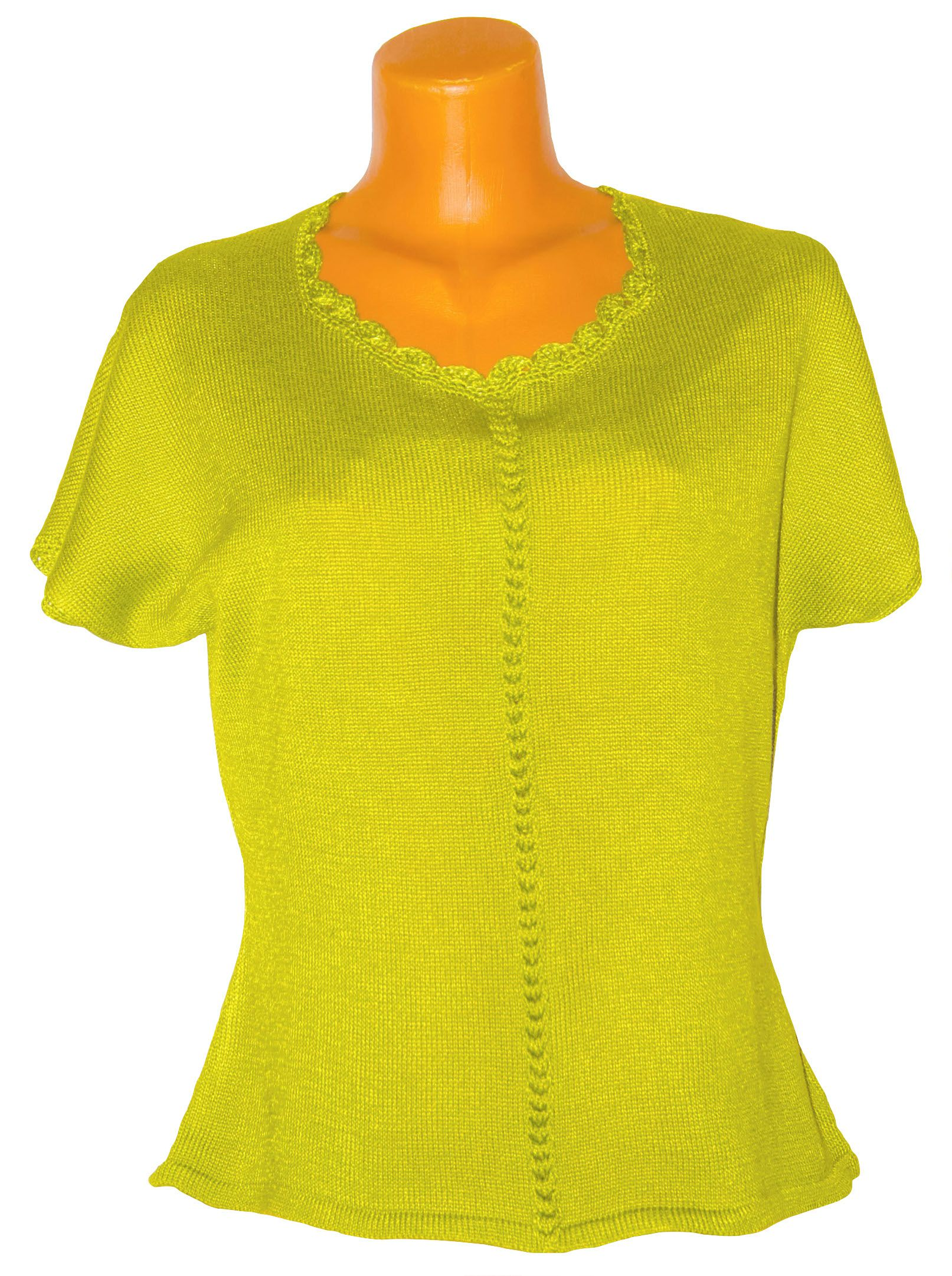 cotton green clothes top yarn