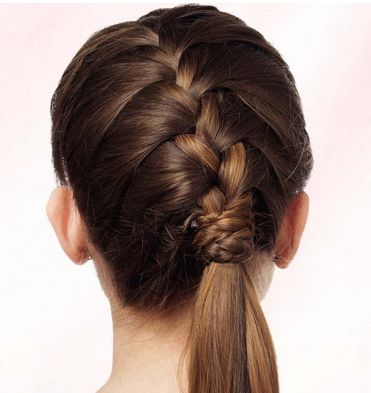 french plait lesson hair braid