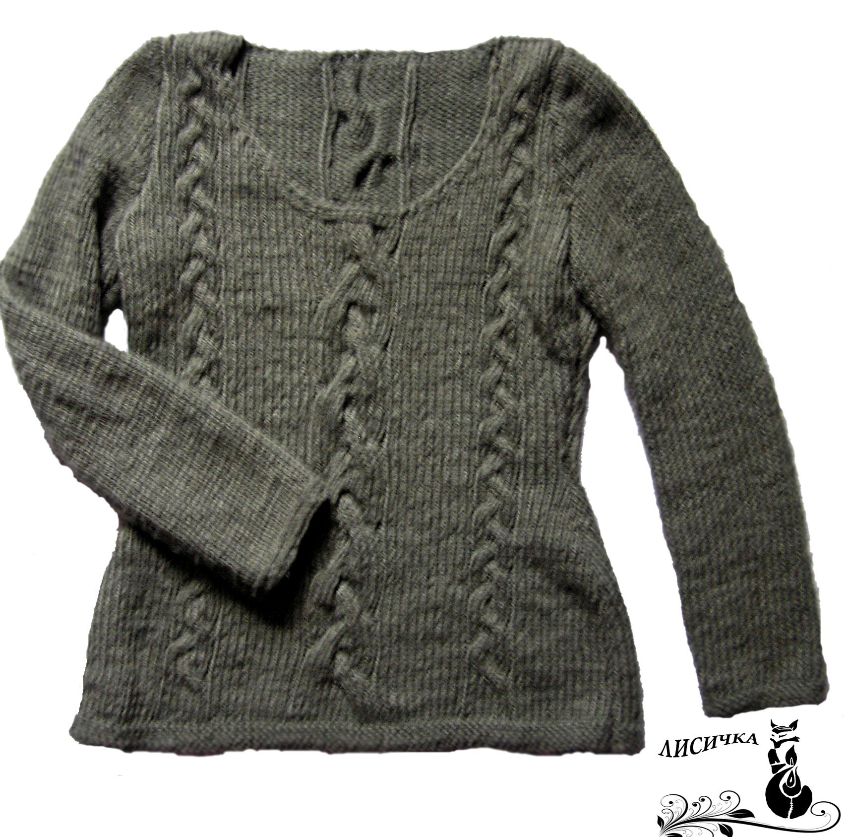 knitting clothes sweater grey pullover winter