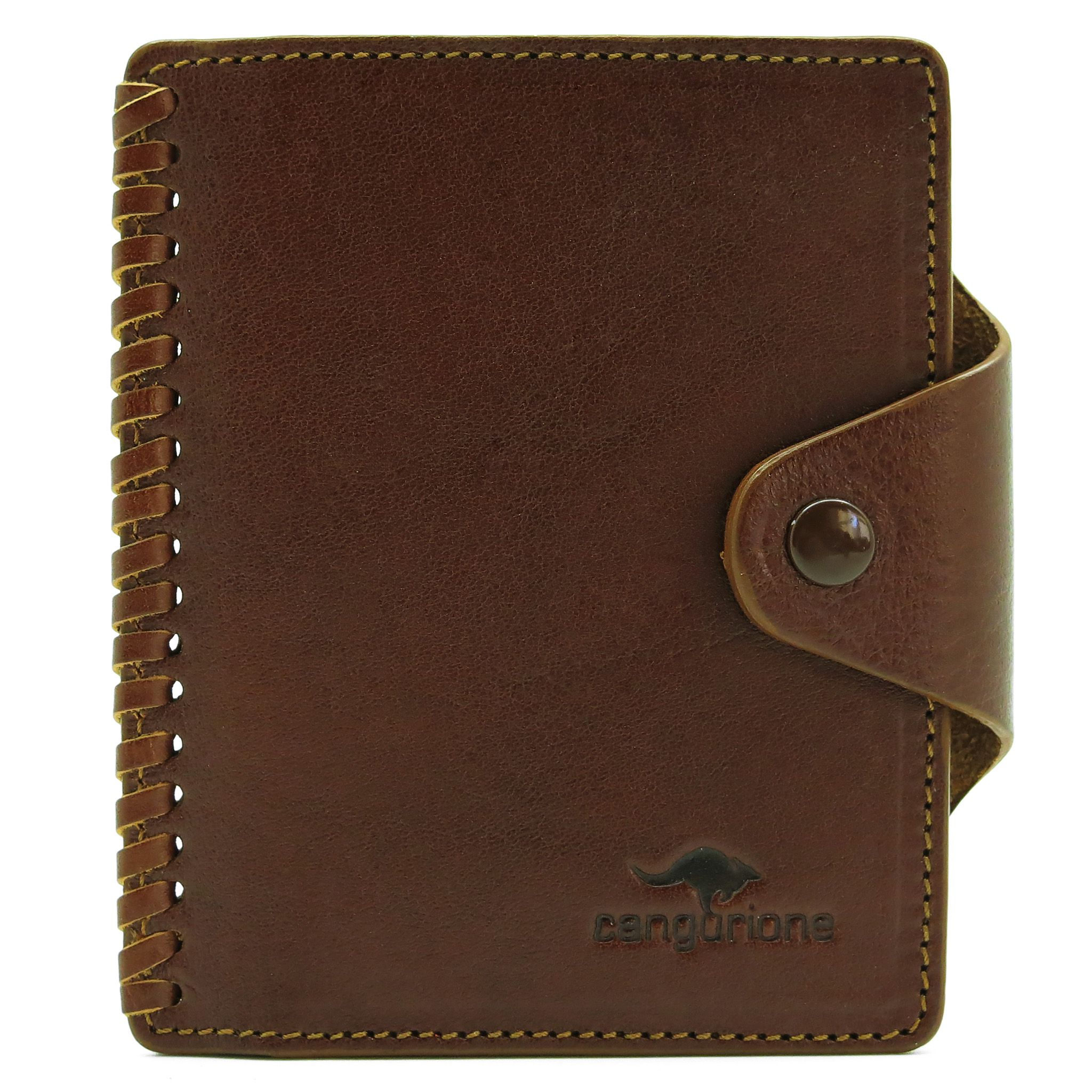 accessories leather brown handmade cardholder