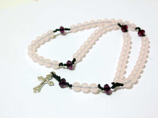 process rosary make beads accessories