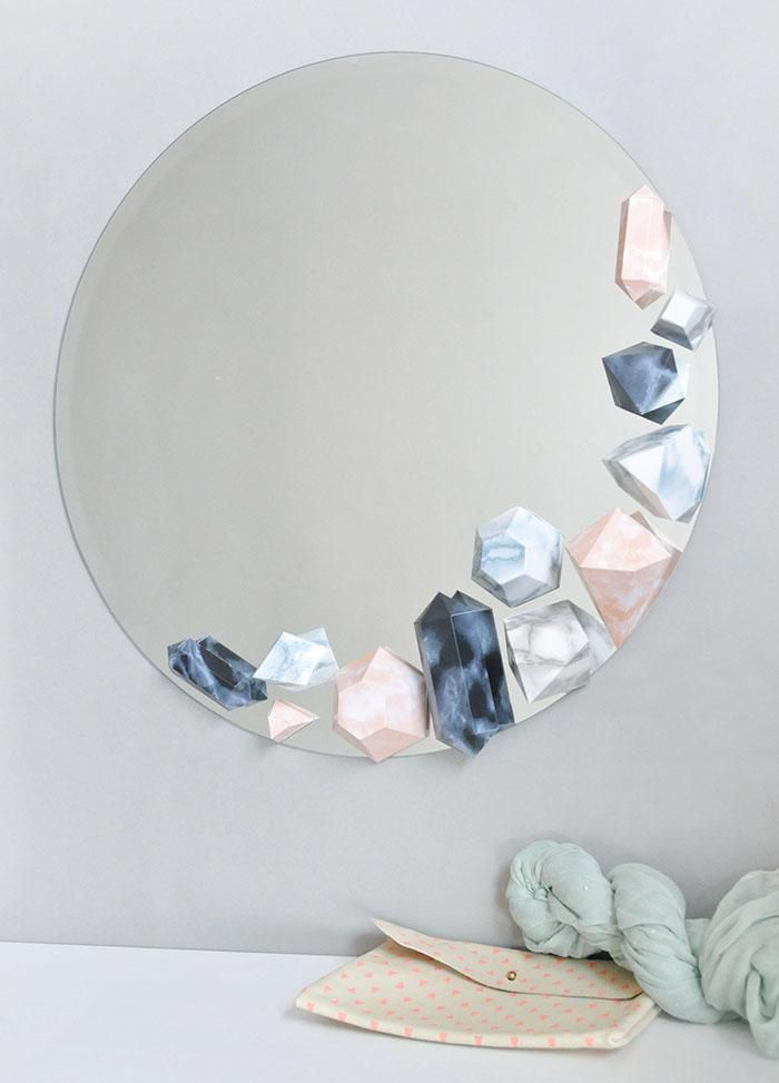 handmade inspiration decoration mirror homedecor idea diy ideasforhome