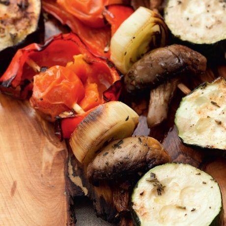 ingredients grilled vegetables cookery cook