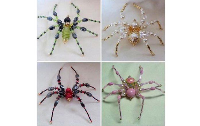 brooch halloween jewelry spider