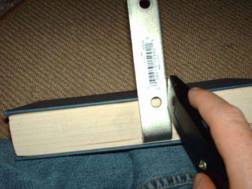 bookshelf levitate invisible unusual make