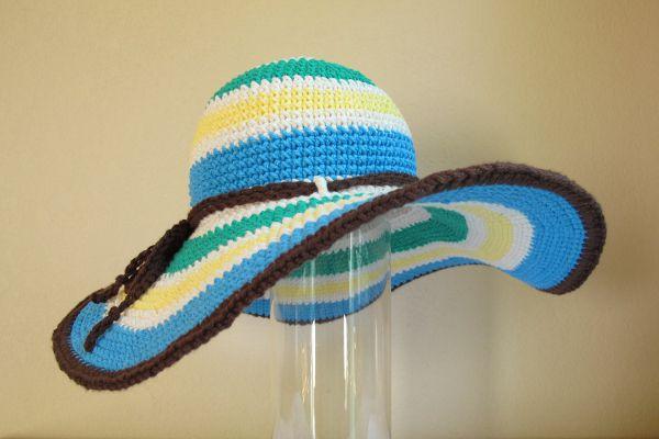 textile hat crochet thread goods