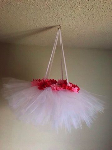 mobile flowers baby gift tutu with shower flower