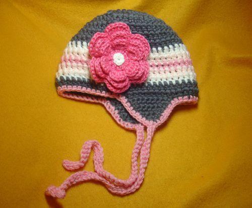 baby textile crochet hats goods