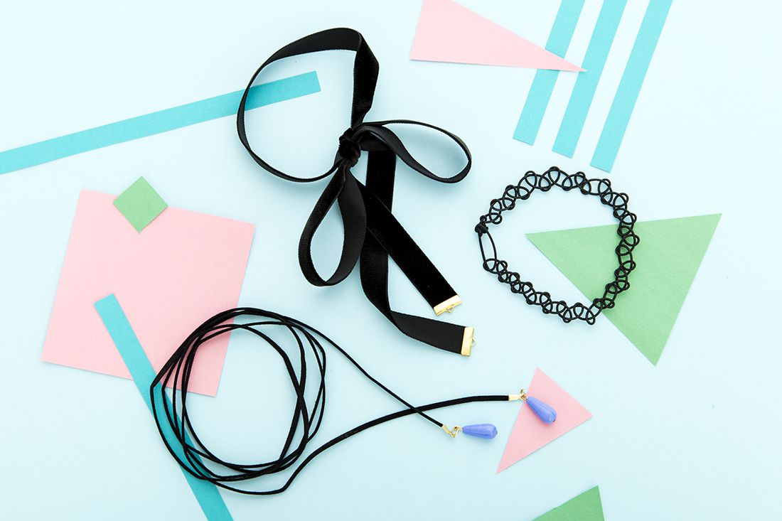 choker 90s boho jewelry