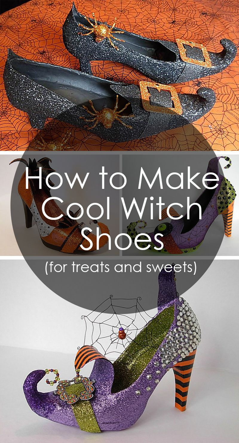 witch sweets shoes and treets for
