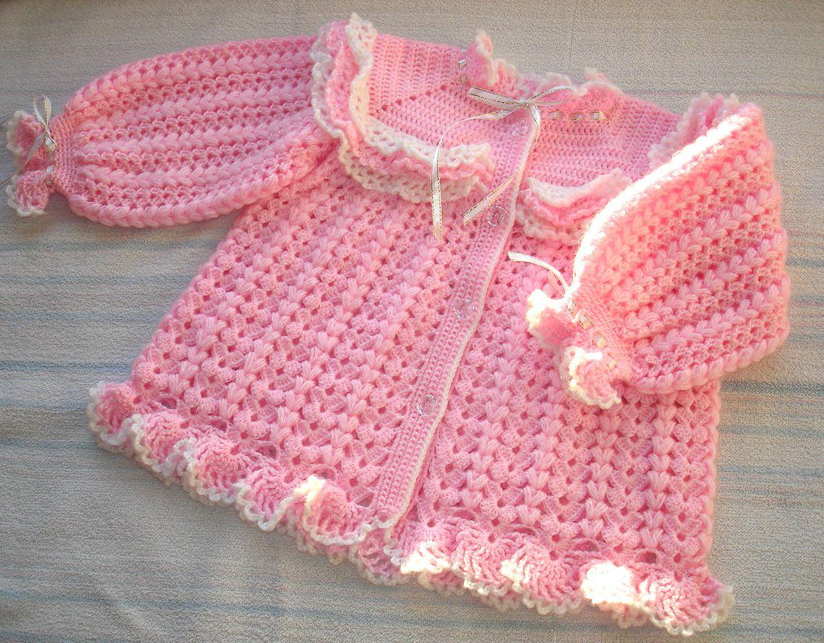 baby girl cardigan children cloud pink