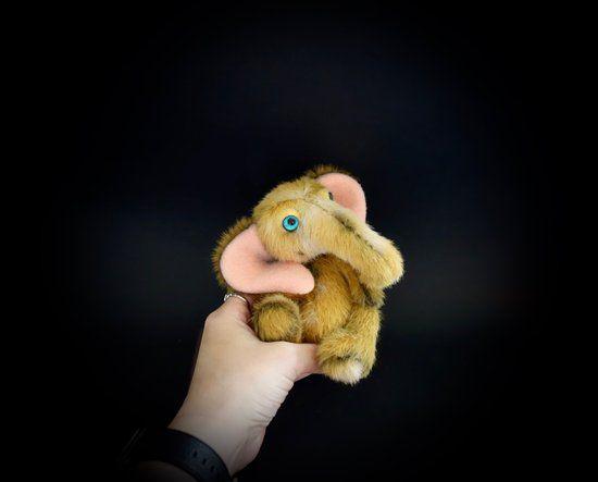 doll elephant miniature cute zoo mustard teddy teddybear bear yellow art