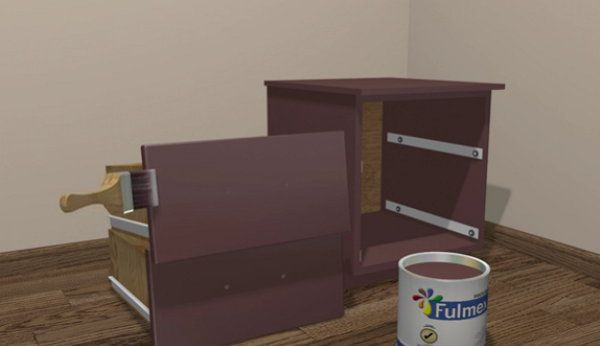 furniture clearcole laminated wooden paint